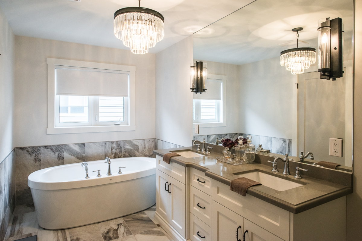 ... Designs by Santy :: Euro Home Ensuite with basin tub