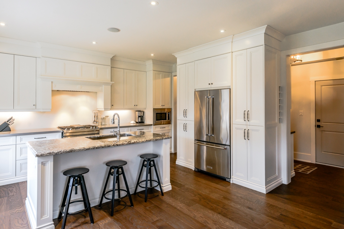 ... Designs by Santy :: Euro Home Kitchen with island seating ...