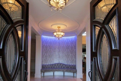 Designs by Santy :: Estate Transformation Grand entrance