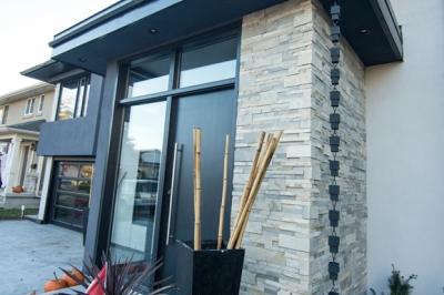Designs by Santy :: Hillside Transformation Raised entry foyer