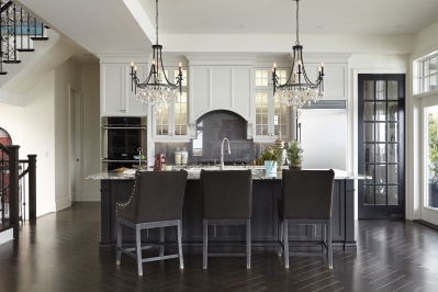 Designs by Santy :: Lakeside Retreat Kitchen with island