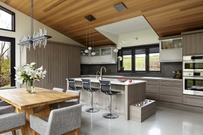 Designs by Santy :: Bridge House Kitchen with new raised dormer