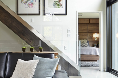 Designs by Santy :: Bridge House Stairs up