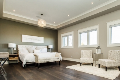 Designs by Santy :: Manor House Master bedroom with seating