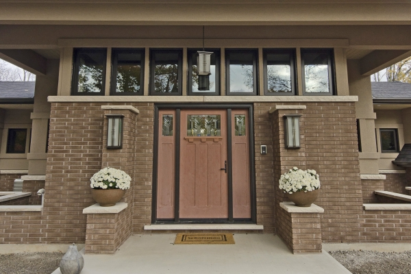 Designs by Santy :: Riverhouse Front entrance stoop