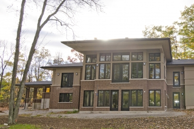 Designs by Santy :: Riverhouse Back elevation with grand windows